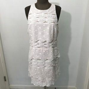 NWOT Lilly Pulitzer Eyelet Layered Dress Size 12